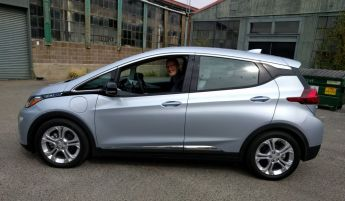 Leigh & Chevy Bolt - Click to enlarge